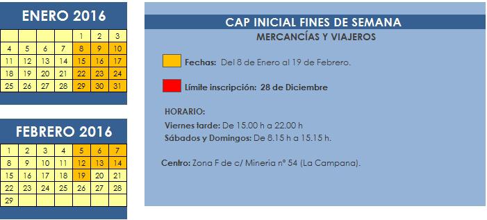 CAP INICIAL FINDES (ENERO 2016)